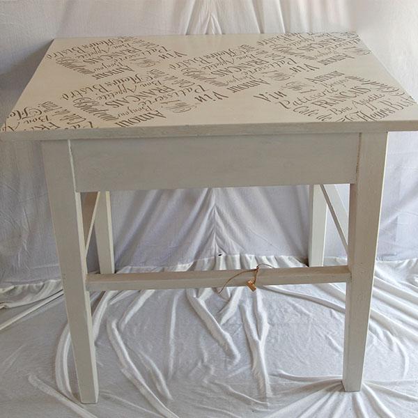 Spisebord i fransk look   pipi antik