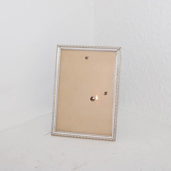 5 hvid guld look metal fotoramme 11 x 15 cm. Black Bedroom Furniture Sets. Home Design Ideas