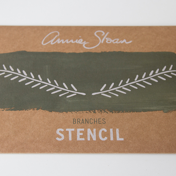 Stencil Branches AS Chalk Paint