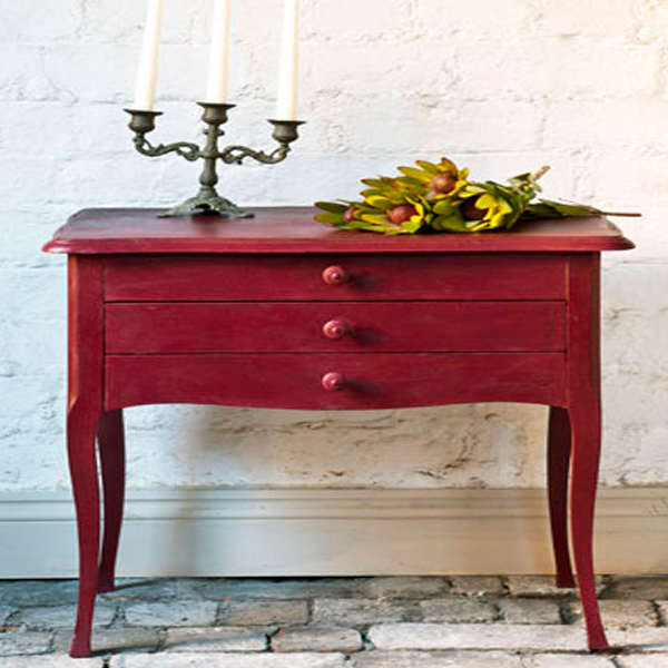Burgundy piece AS Chalk Paint