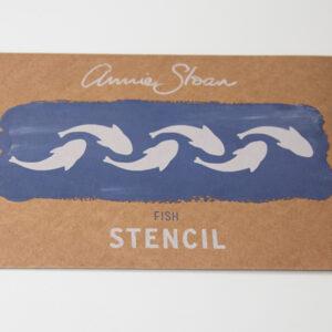 Stencil Fish AS Chalk Paint
