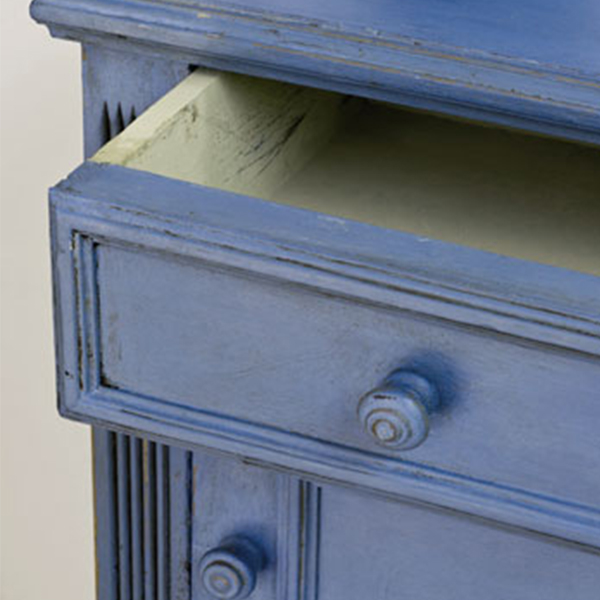 Greek Blue piece AS Chalk Paint