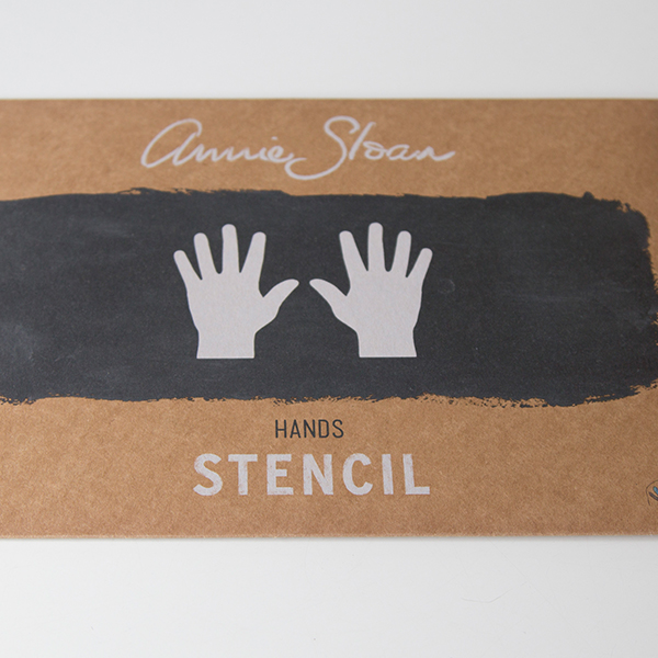 Stencil Hands AS Chalk Paint