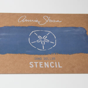 Stencil Sand Dollar AS Chalk Paint