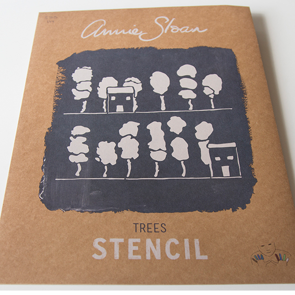 Stencil Trees AS Chalk Paint