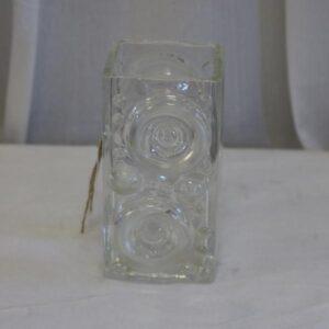 Glasvaser i klart glas
