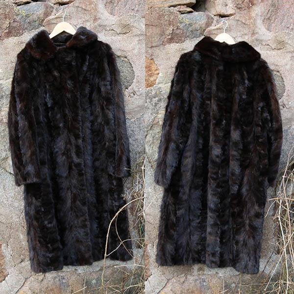 XL mink pels