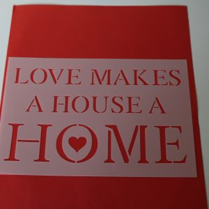 Stencil Loves makes a house a home A5