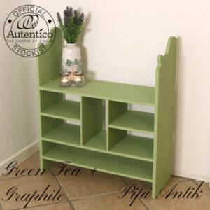 Green Tea Graphite mix retro postsorteringshylde romantisk 66,5x24x77cm