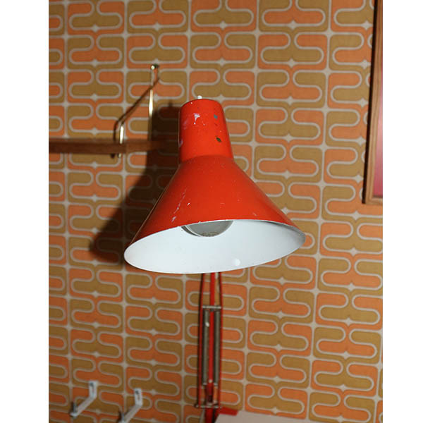 Arkitektlampe2 orange m patina