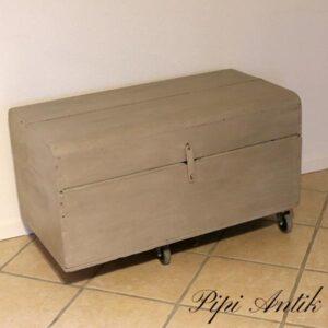 Kiste i French Linen 92x50x45 cm H uden hjul
