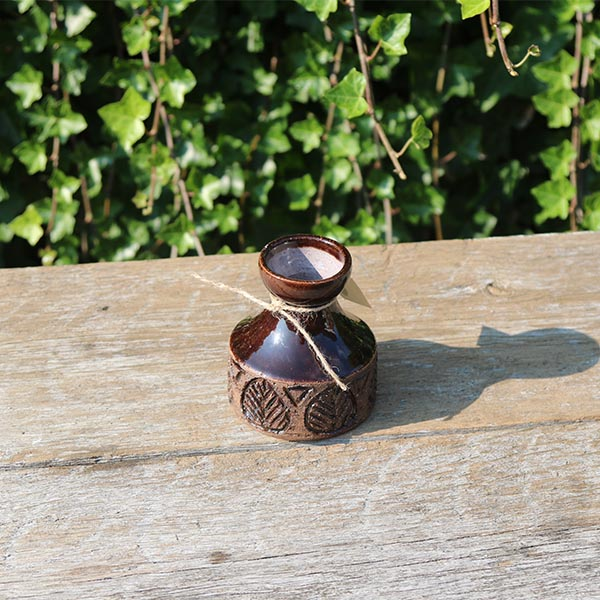 brun-keramikvase-laholm-2033-10-cm