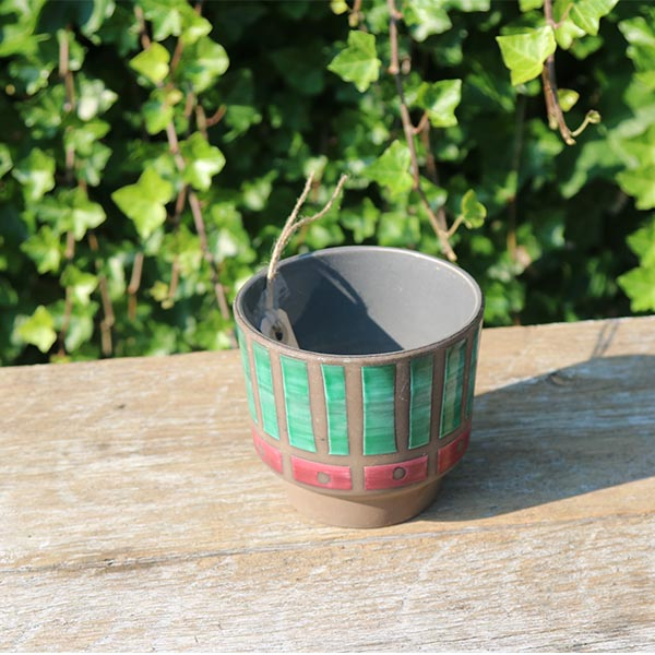 groen-roed-retro-urtepotte-nn-13-cm
