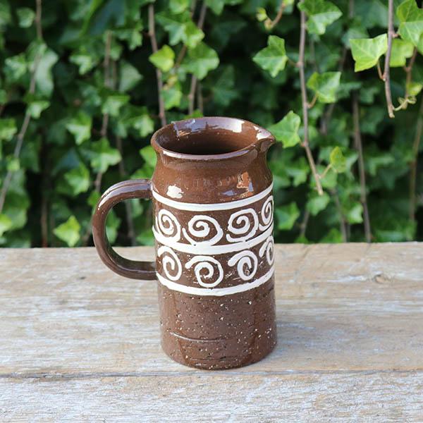 keramikkande-brun-no-name-18-cm