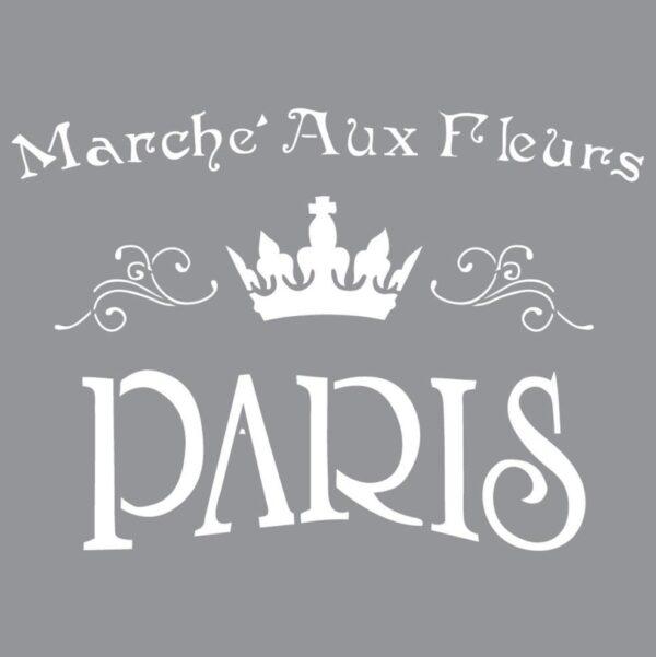 Stencils A3 Marché Aux Fleurs