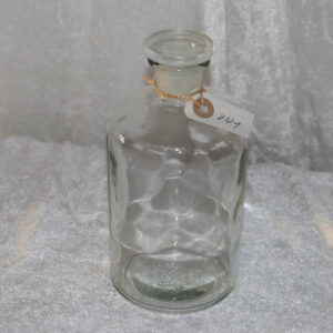 Apoteker glaskaraffel