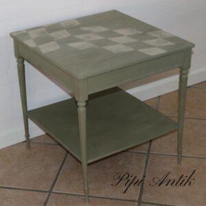 Lille sofabord Chateau Grey - Annie Sloan Chalk Paint 50x50x52 cm (8)