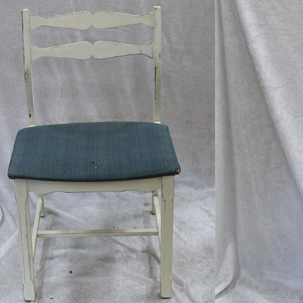 Romantiske stol - med flot snit