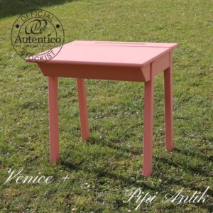 Skolebord 65x55x68 cm Venice + Red Stripe