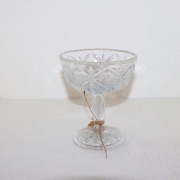 01 Glasopsats lille Ø 9 x 7 cm
