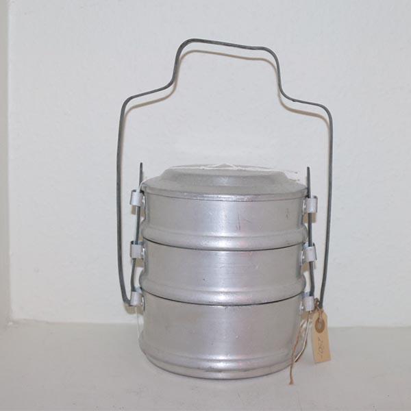 09 Aluminium madkasse Ø 16 x 34 til hanken