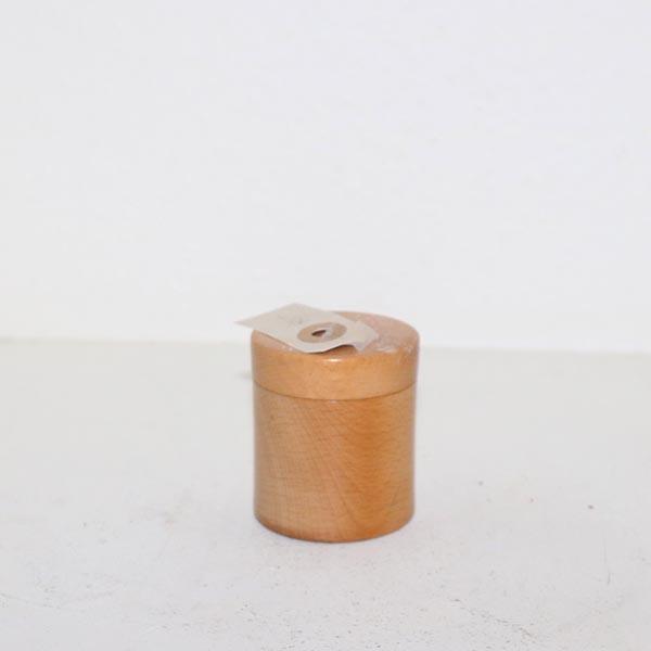 11 Træbeholder Ø 5,5 x 6 cm