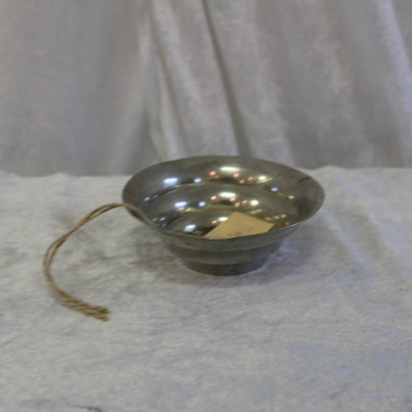 12 Tinlook metal skål Ø 10 x 3,5 cm i højde