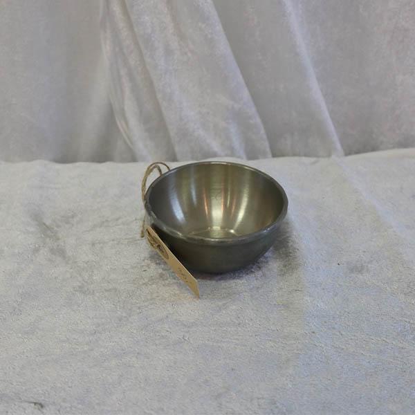 13 Tin skål Ø 8, 5 x 4 cm i højde