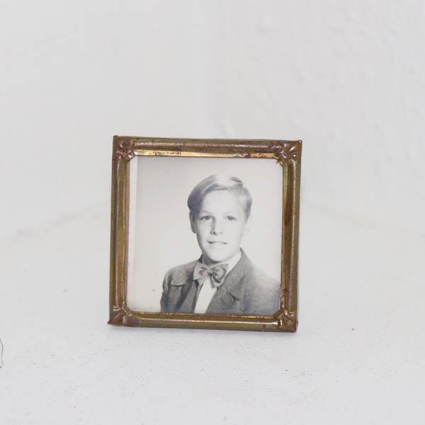 16 Metal fotoramme miniput 6x6 cm