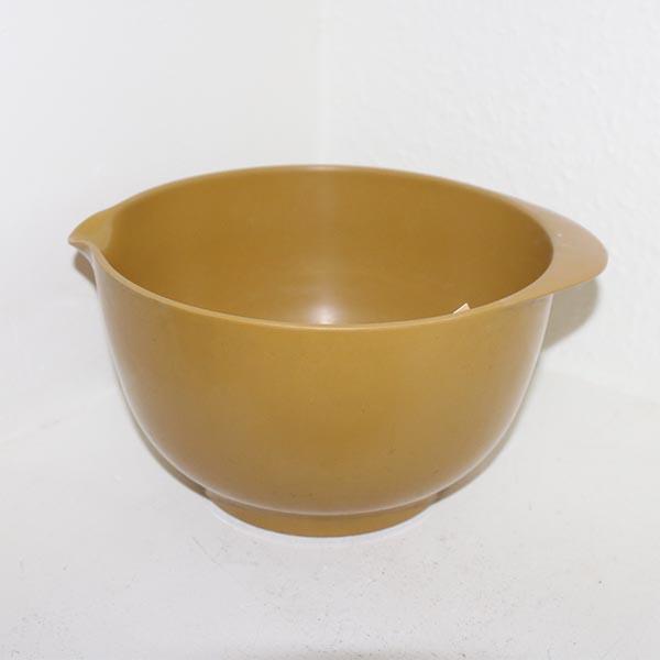 Margretheskålen Olivenfarvet Ø 21 x 13 cm