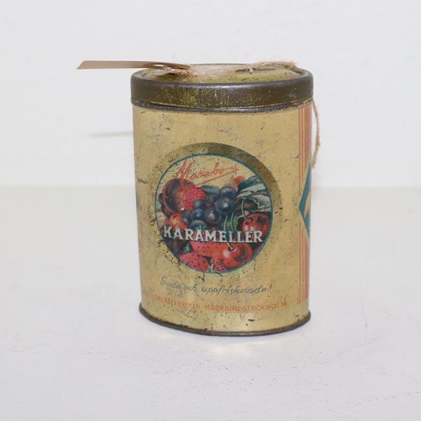 27 Karameldåse Ø 9 x 3 cm