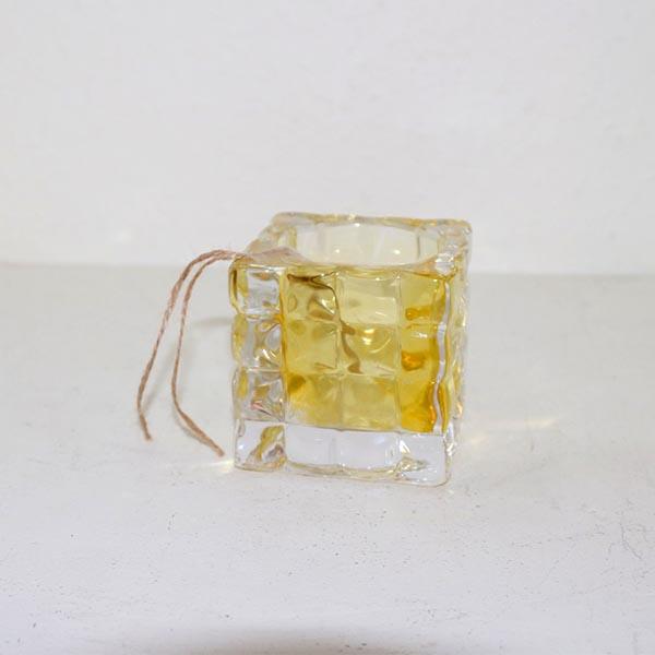 30 Retro gul fyrfadslysholder