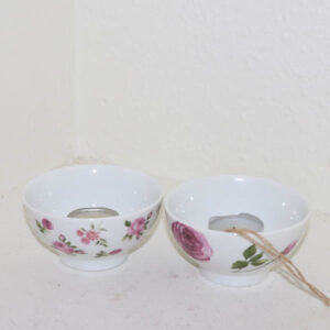 5 Romantisk rose fyrfadsholder