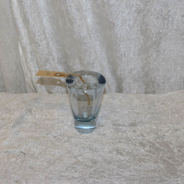 Aqua Farvet Lille Holmegaard Vase
