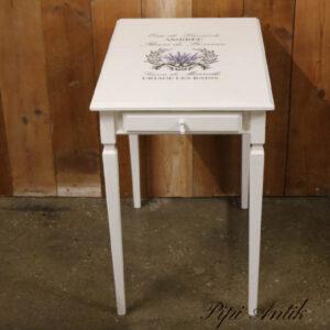 Minibord med skuffe 55x38x59 cm