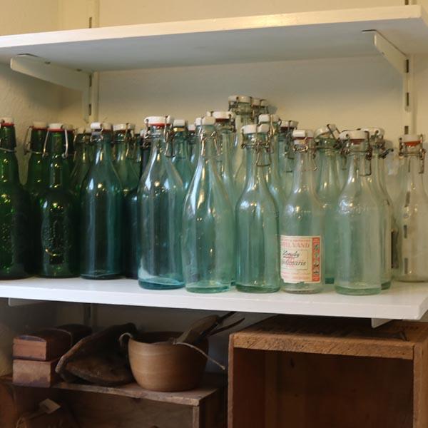 Sodavandsflasker ass farver og mærker
