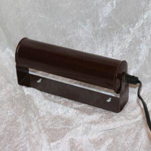 34 Retro brun metal natlampe