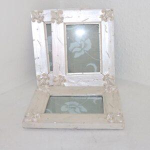 Perlemor billedrammer 15,5 x 19 cm - nyere