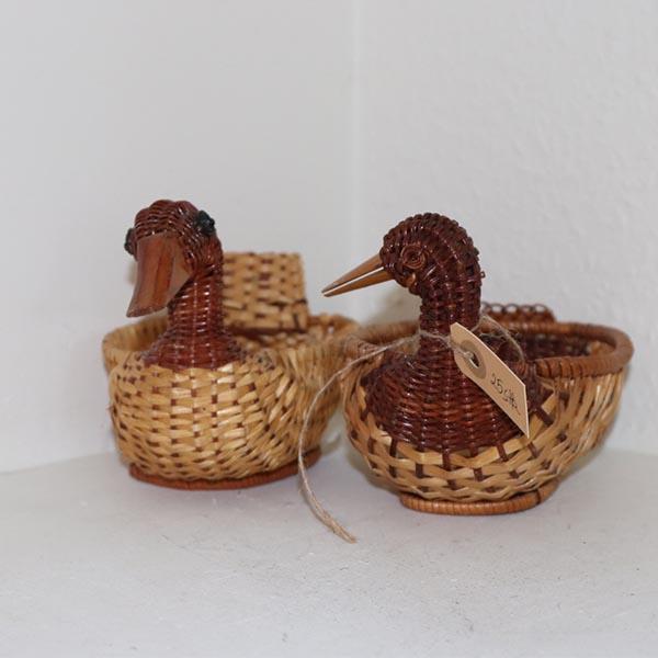 Ænder i flet 22 x 12 x 13 cm