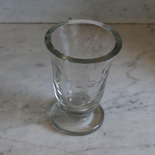 Klar glasvase Ø 10 x 14 cm