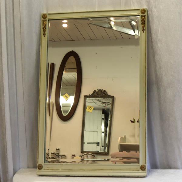 Retro romantisk facetslebet spejl 65 x 96,5 cm