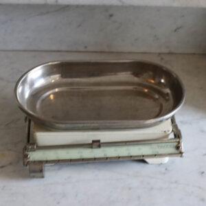 Tocasa mini emalje bordvægt 26x16x10,5 cm
