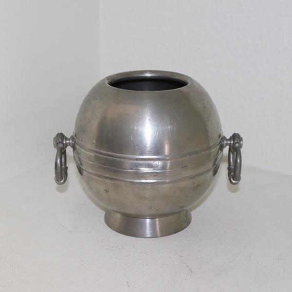 Tin vase buttet 25 x 10 cm