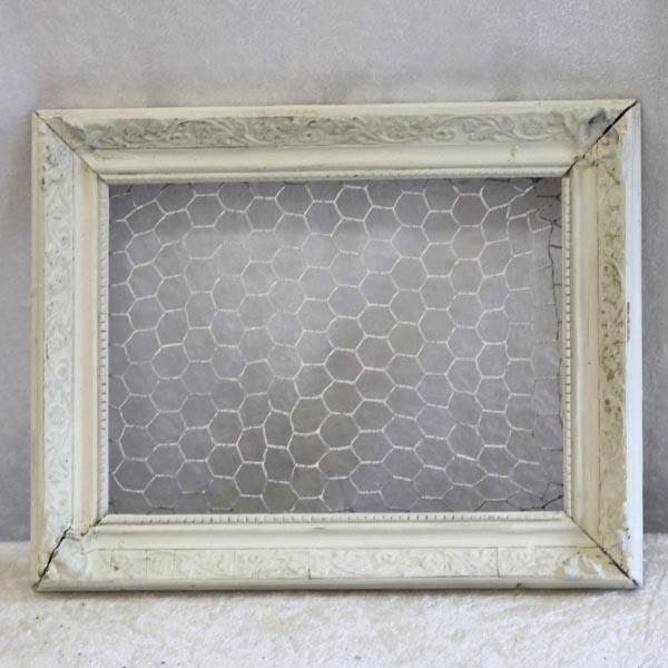 Lille opslagstavle hvid af billedramme 23 x 29 cm