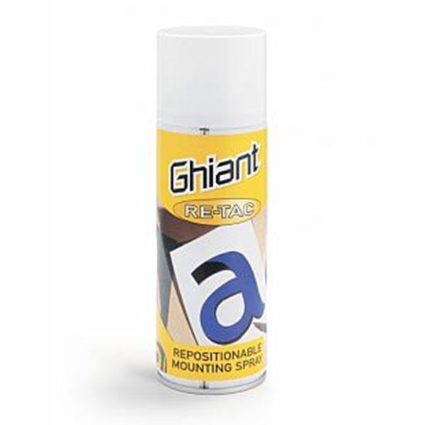 Ghiant Re-Tac spraylim - aftagelig