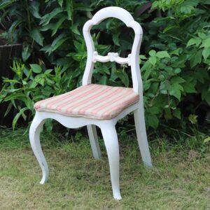 Hvide romantisk stole 43 cm i siddehøjde