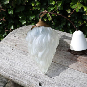Dråbe loftlampe frosted Ø 17 x 30 CM H