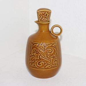 Retro carrygul keramik karaffel D 11 x 22 cm H