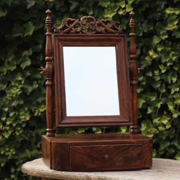 Romantisk spejl forlovelsesgave 35x23,5x54 cm H