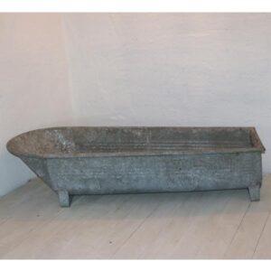 Zink badekar L170xB67xH40 cm